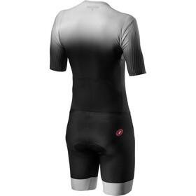 Castelli PR Speed Suit Heren, zwart/zilver